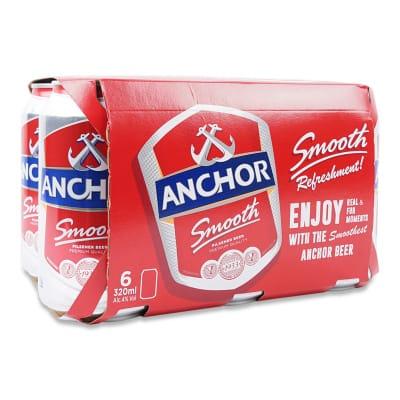 ANCHOR Smooth Beer 6sX323ml