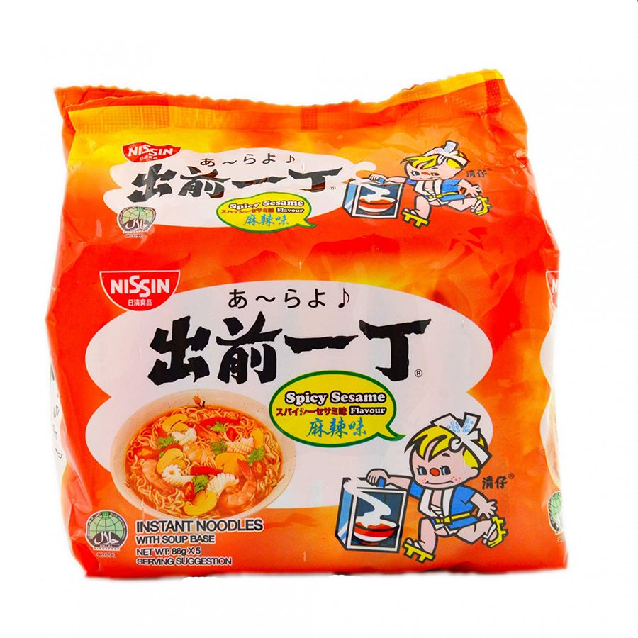 Spicy Sesame Flavour 5s NISSIN
