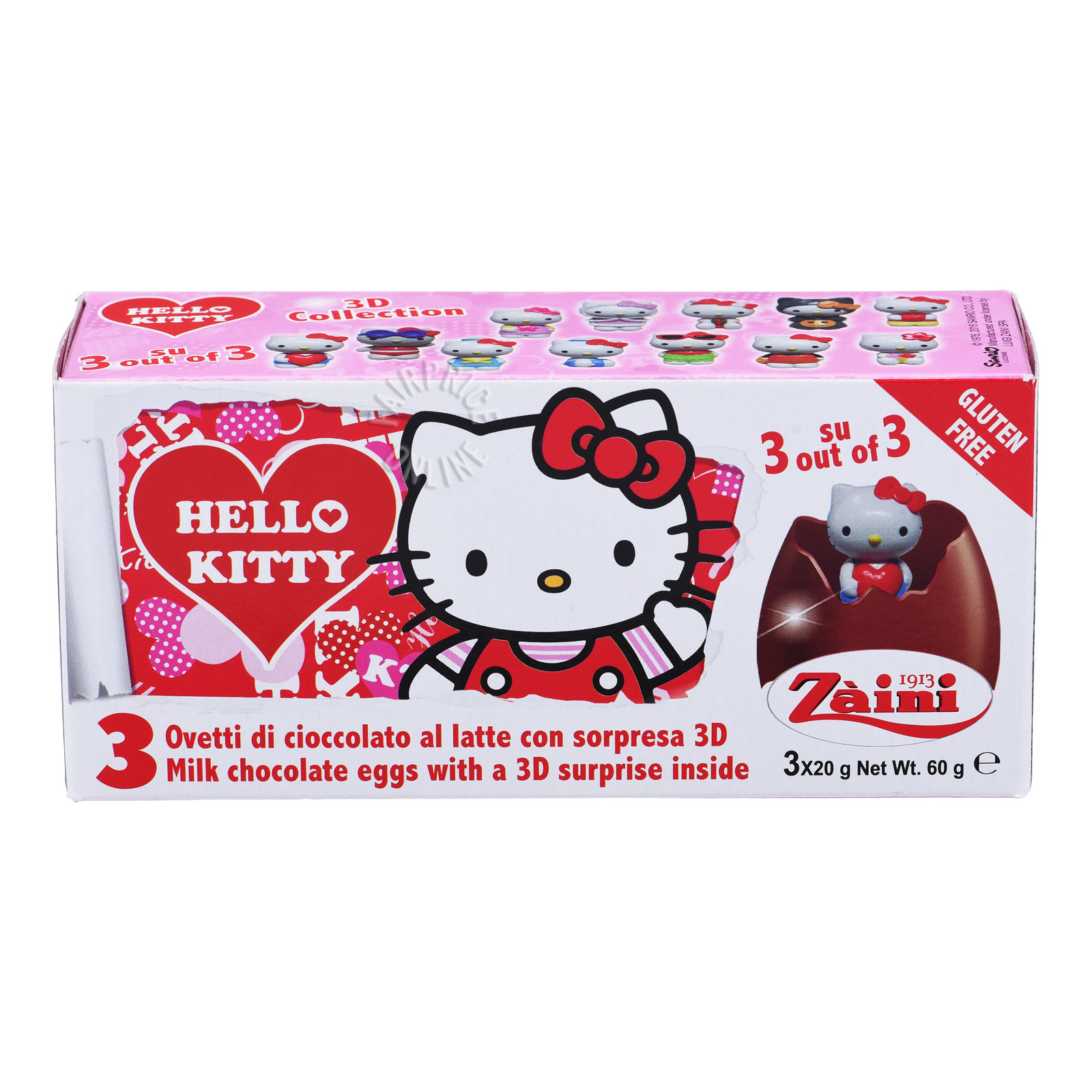Zaini Disney Milk Chocolate Egg - Hello Kitty Collection