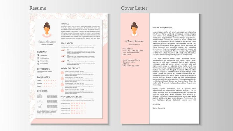 personalized resume and cover letter