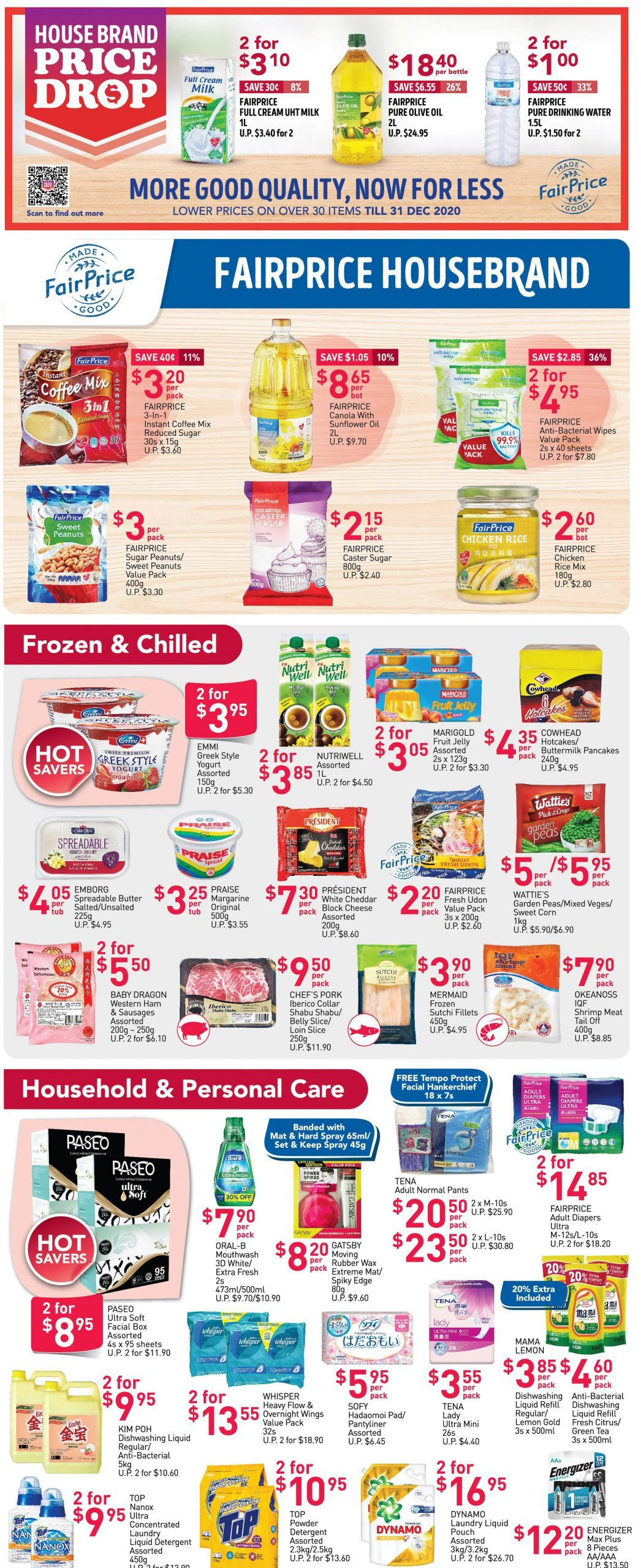 FairPrice's weekly saver deals till 14 October 2020