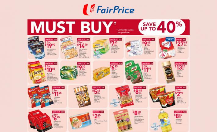 FairPrice Weekly Deals 15 October