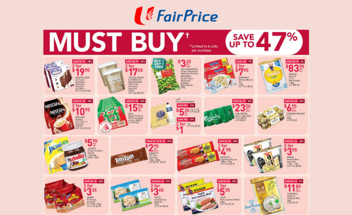 FairPrice Weekly Deals 8 October