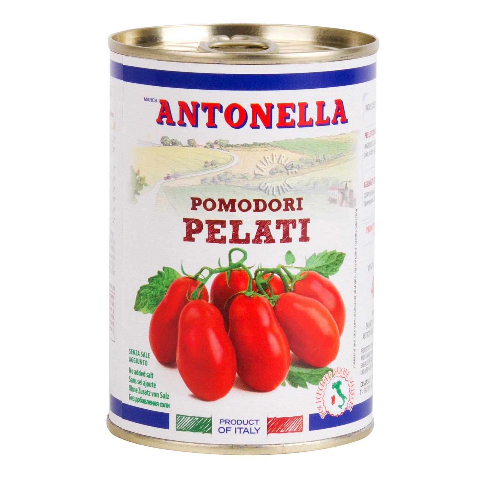 Antonella Whole Peeled Tomato