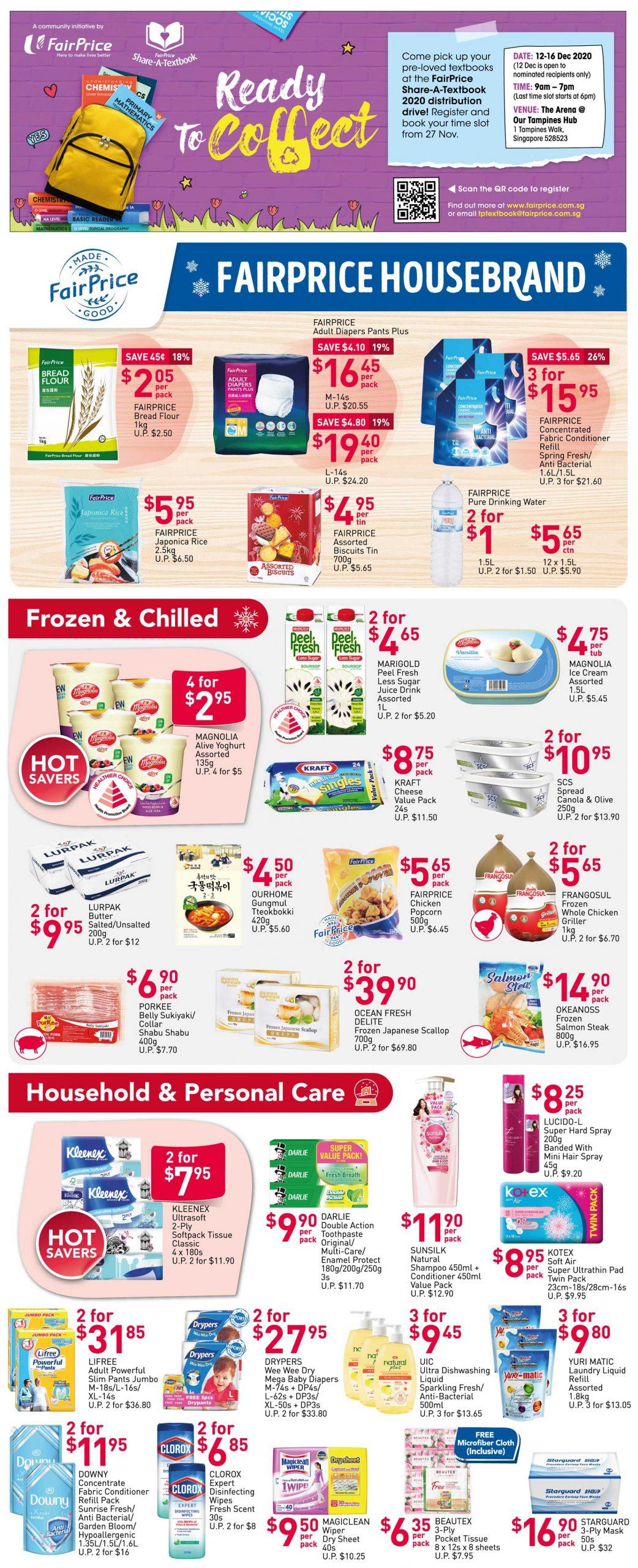 FairPrice's weekly saver deals till 2 December 2020