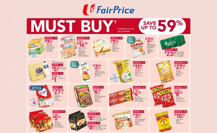FairPrice Weekly Deals 12 November