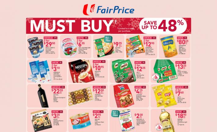 FairPrice Weekly Deals 19 November