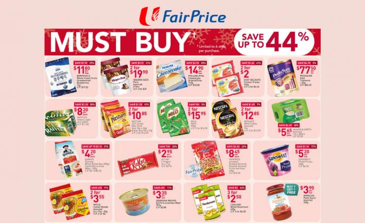 FairPrice Weekly Deals 26 November