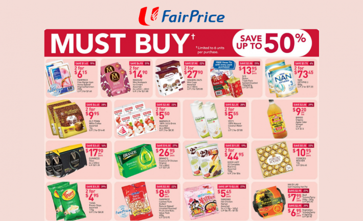 FairPrice Weekly Deals 5 November