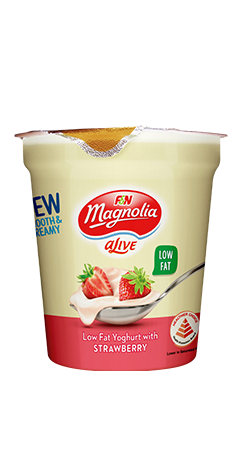 Magnolia Strawberry Alive Yoghurt