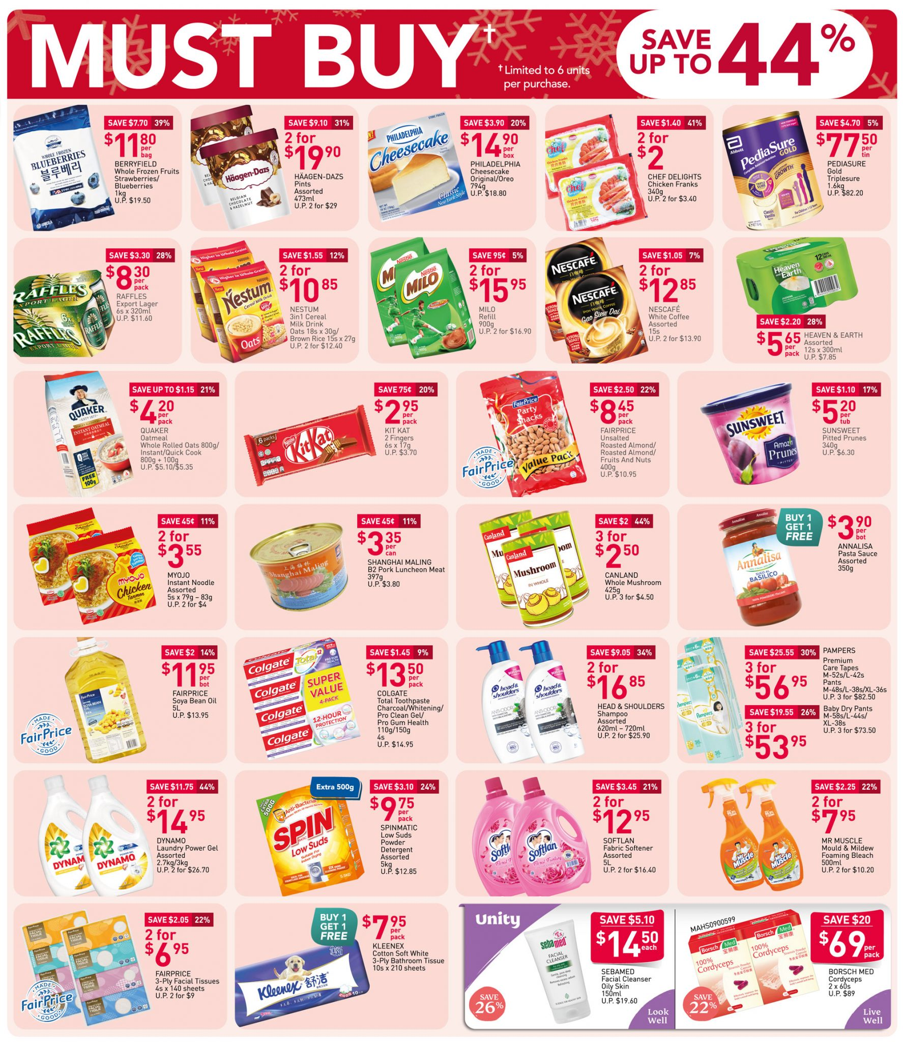 Must-buy items from now till 2 December 2020