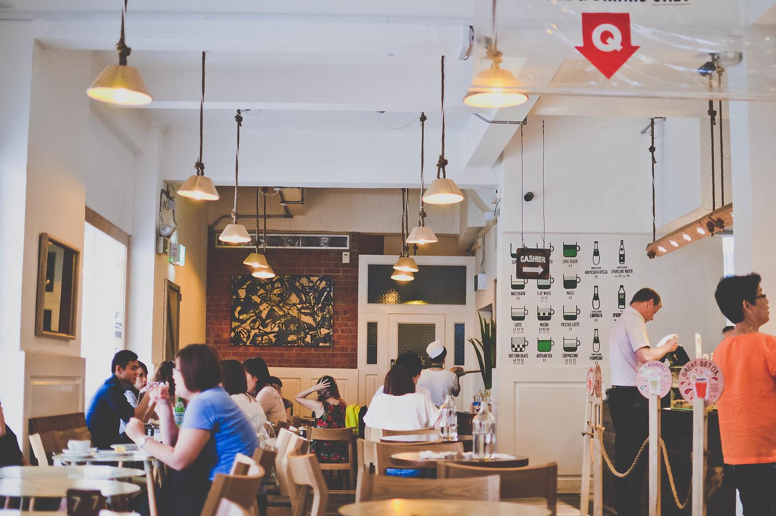 Tiong Bahru Bakery along Eng Hoon Street