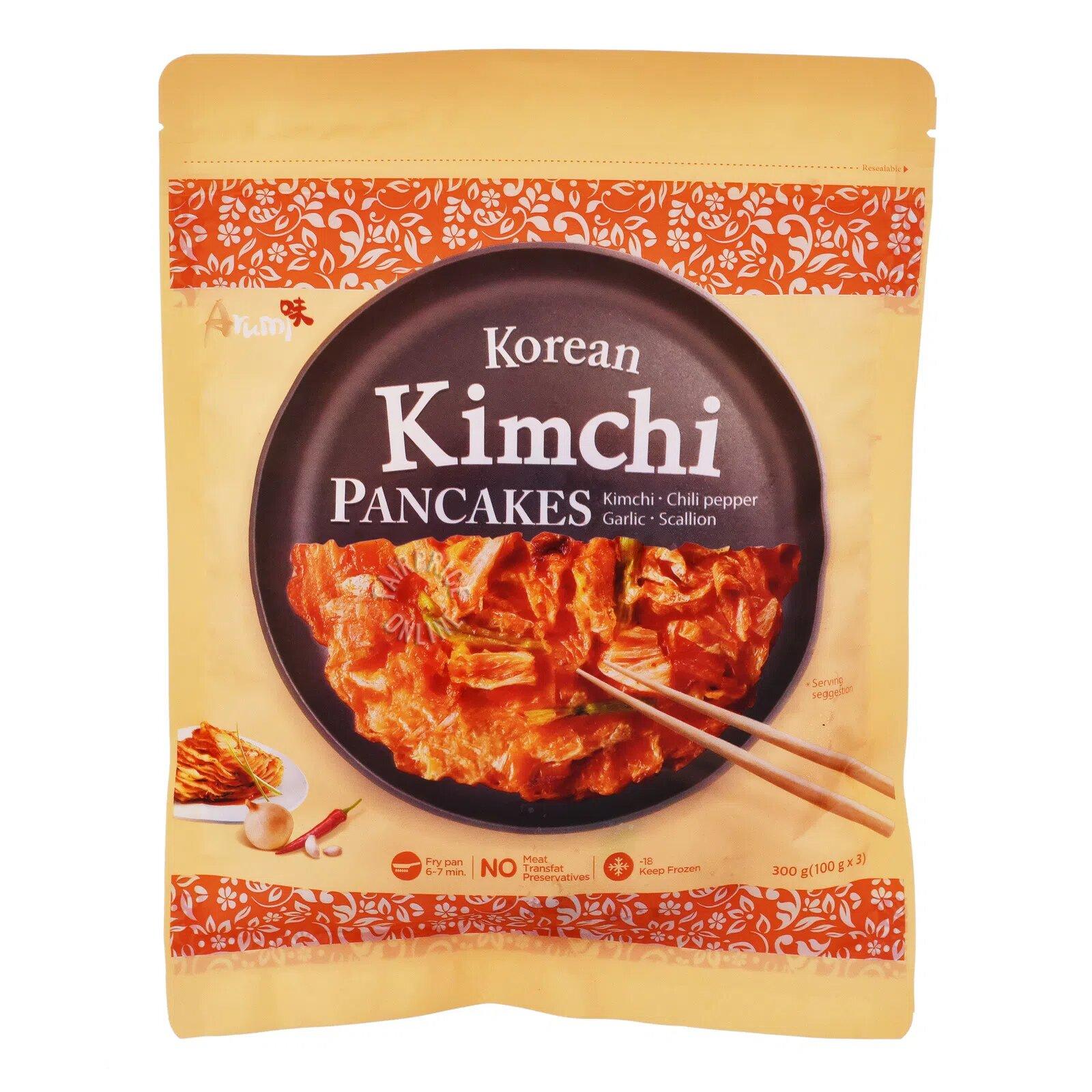 Arumi Frozen Korean Pancakes - Kimchi