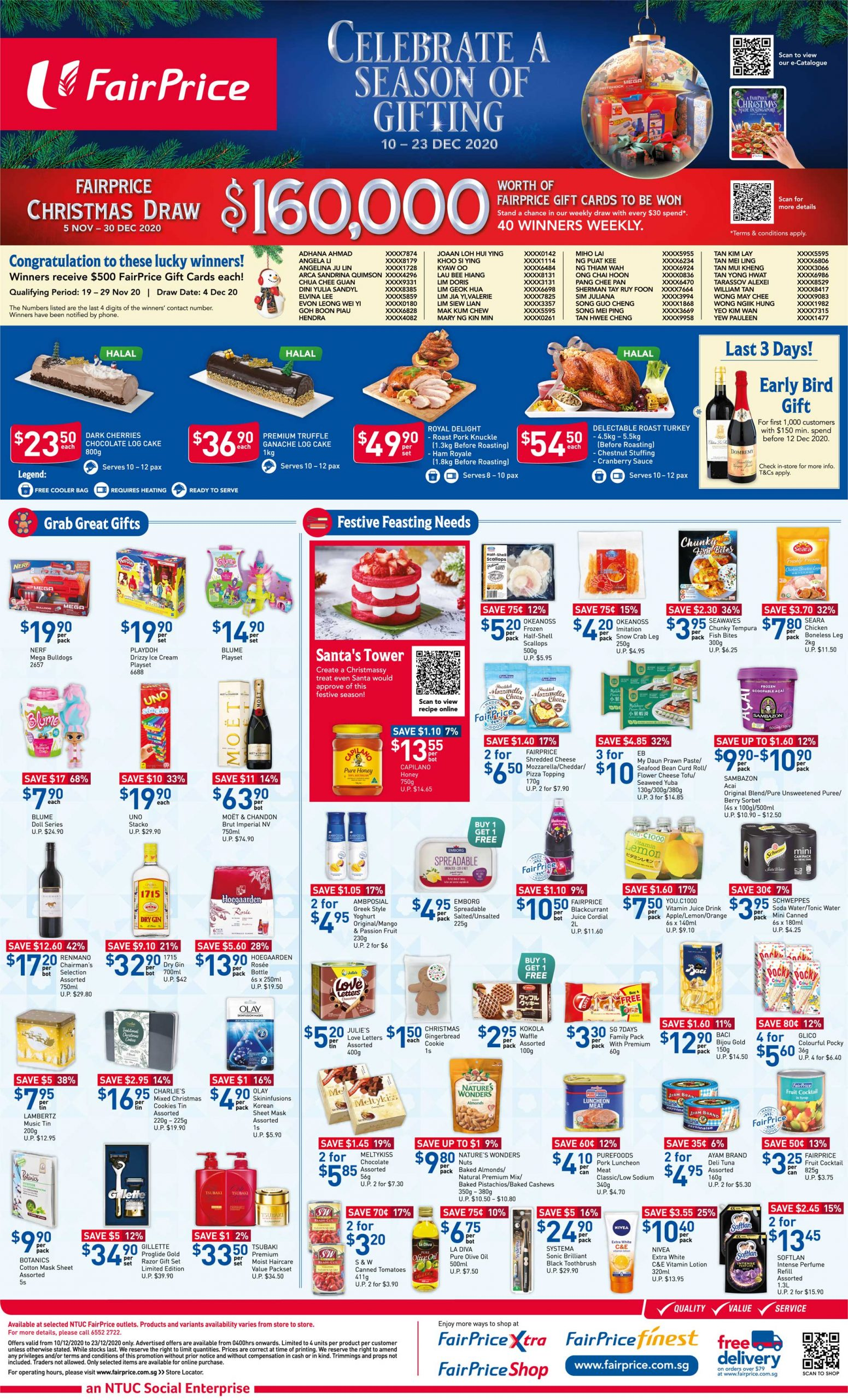 Celebrate a season of gifting with FairPrice from now till 23 December 2020