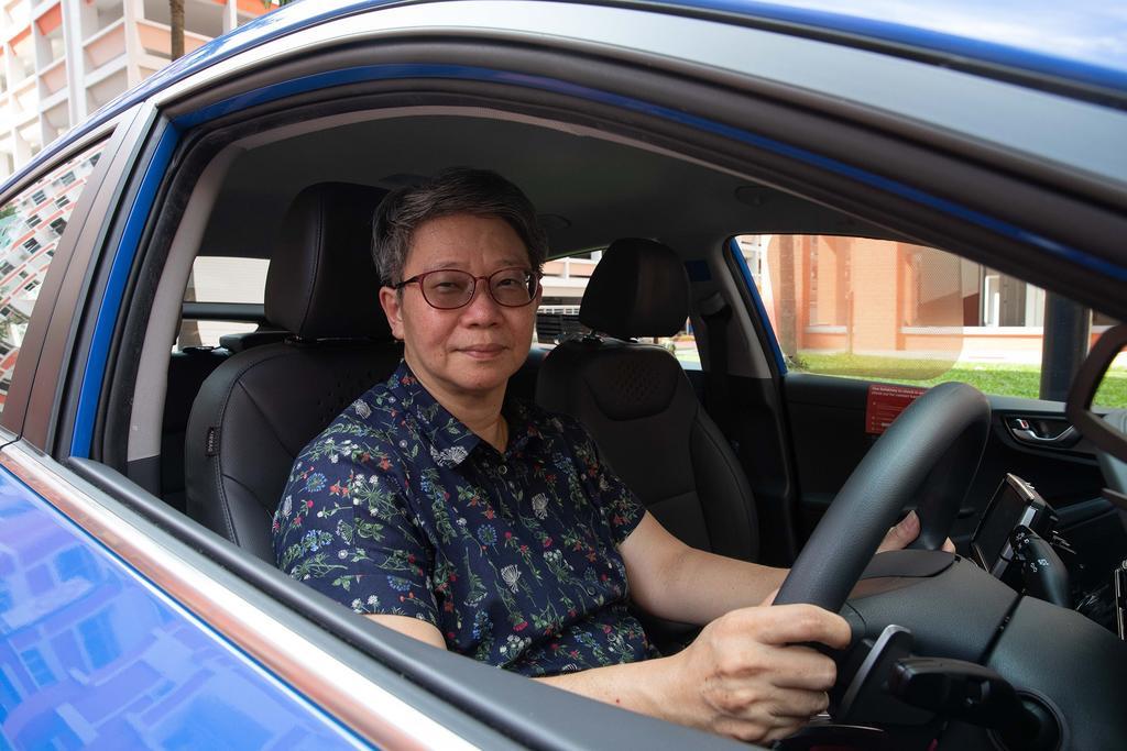 ComfortDelGro taxi driver Kirsty Foo
