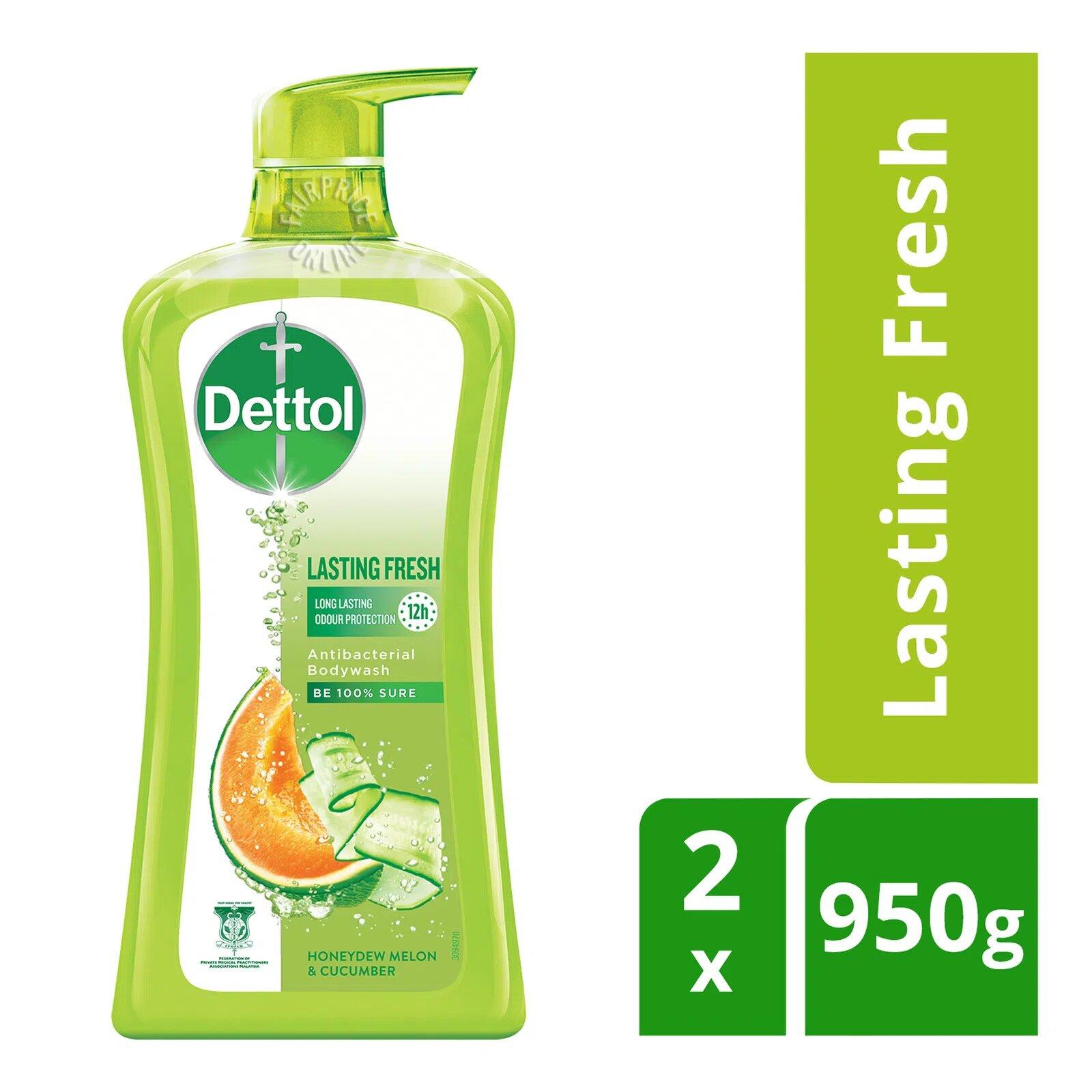 Dettol Anti-Bacterial pH-Balanced Body Wash - Lasting Fresh