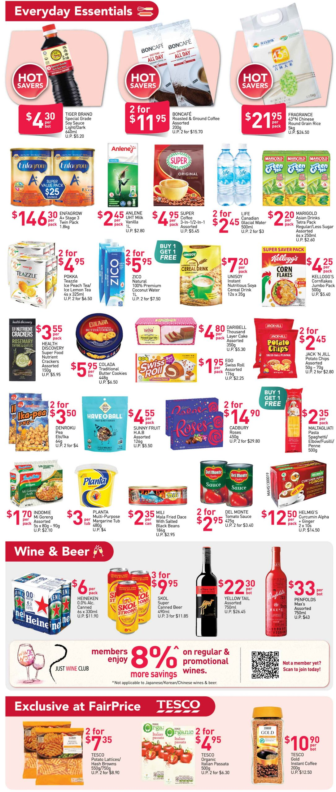 FairPrice's weekly saver deals till 9 December 2020