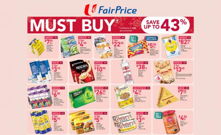 FairPrice Weekly Deals 3 December 2020
