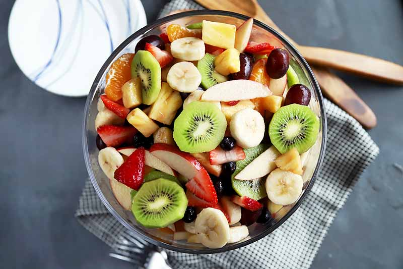 Kiwi fruit salad