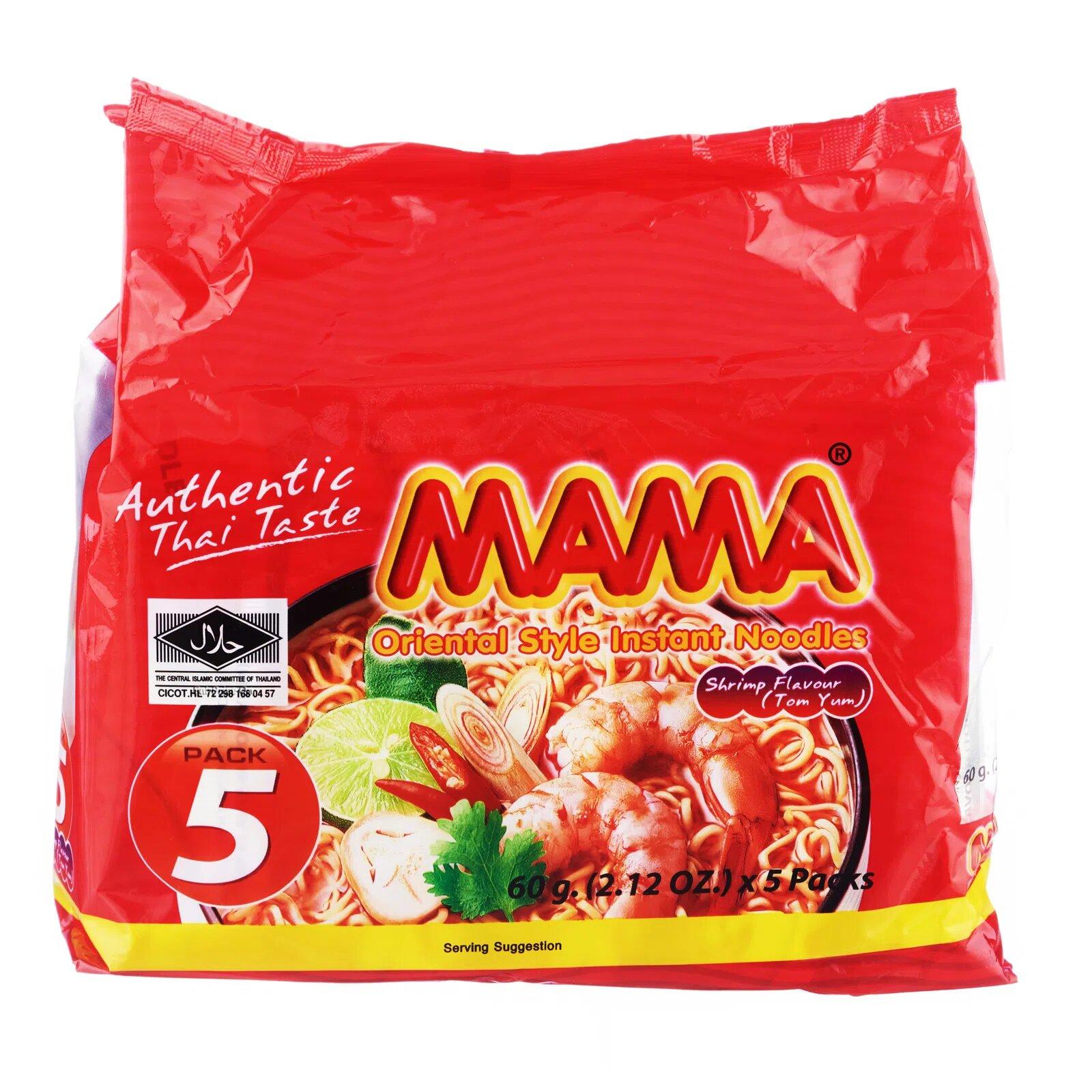 Mama Oriental Style Instant Noodles - Shrimp Tom Yum