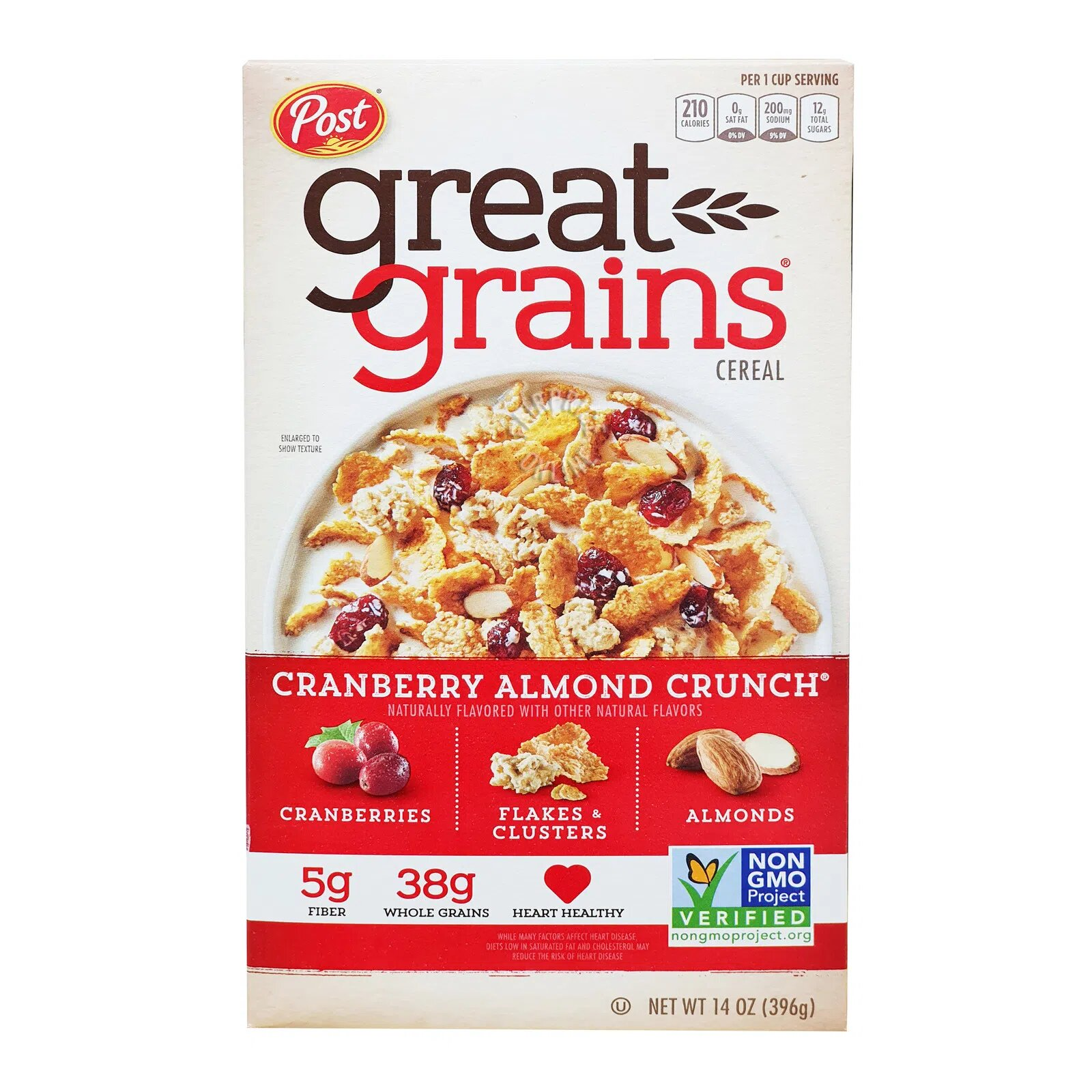 Post Great Grains Cereal - Cranberry Almond Crunch