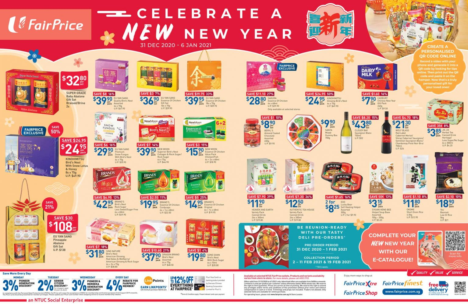 Ring in a new year with FairPrice from now till 6 January 2021