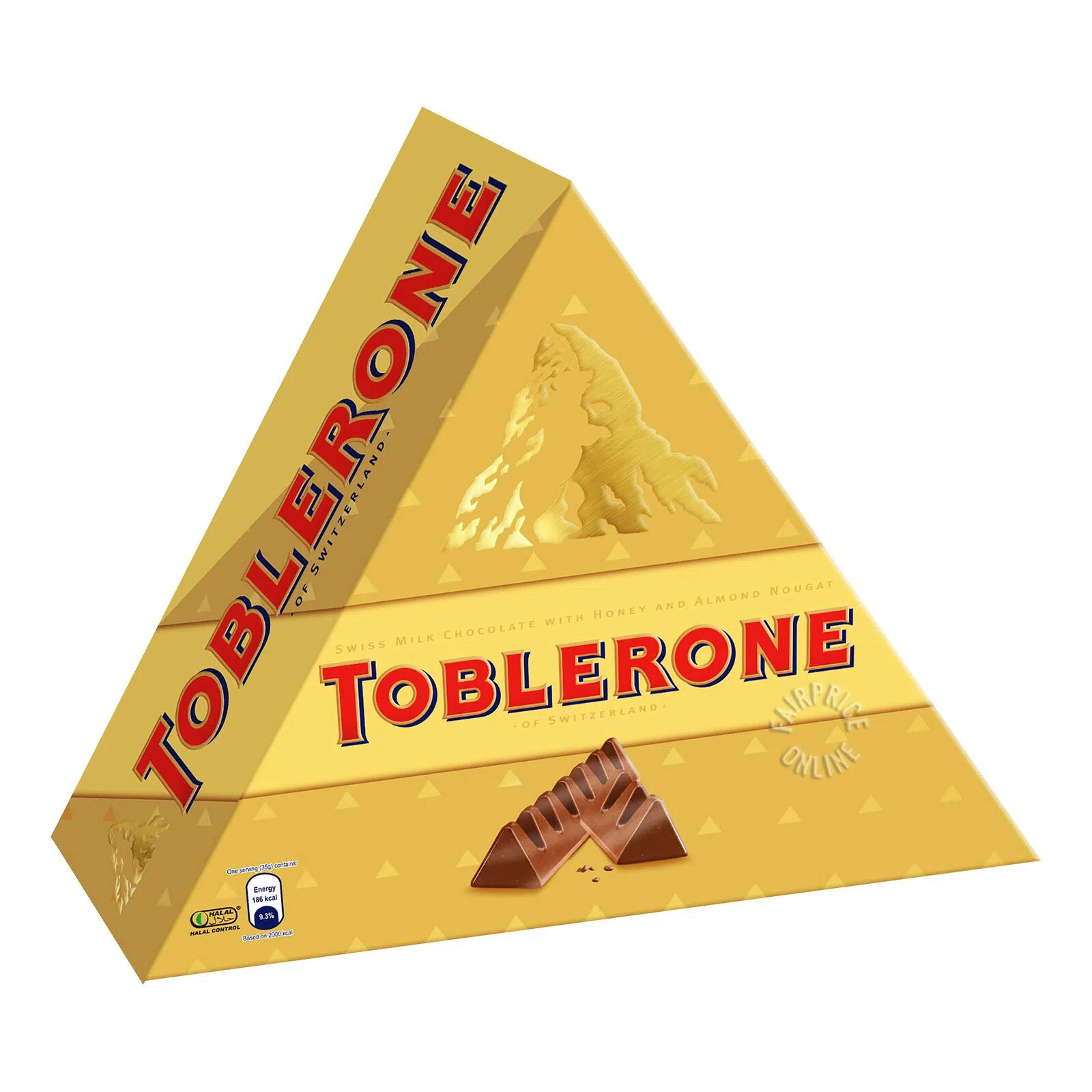 Toblerone Chocolate Bar - Milk (Pyramid)