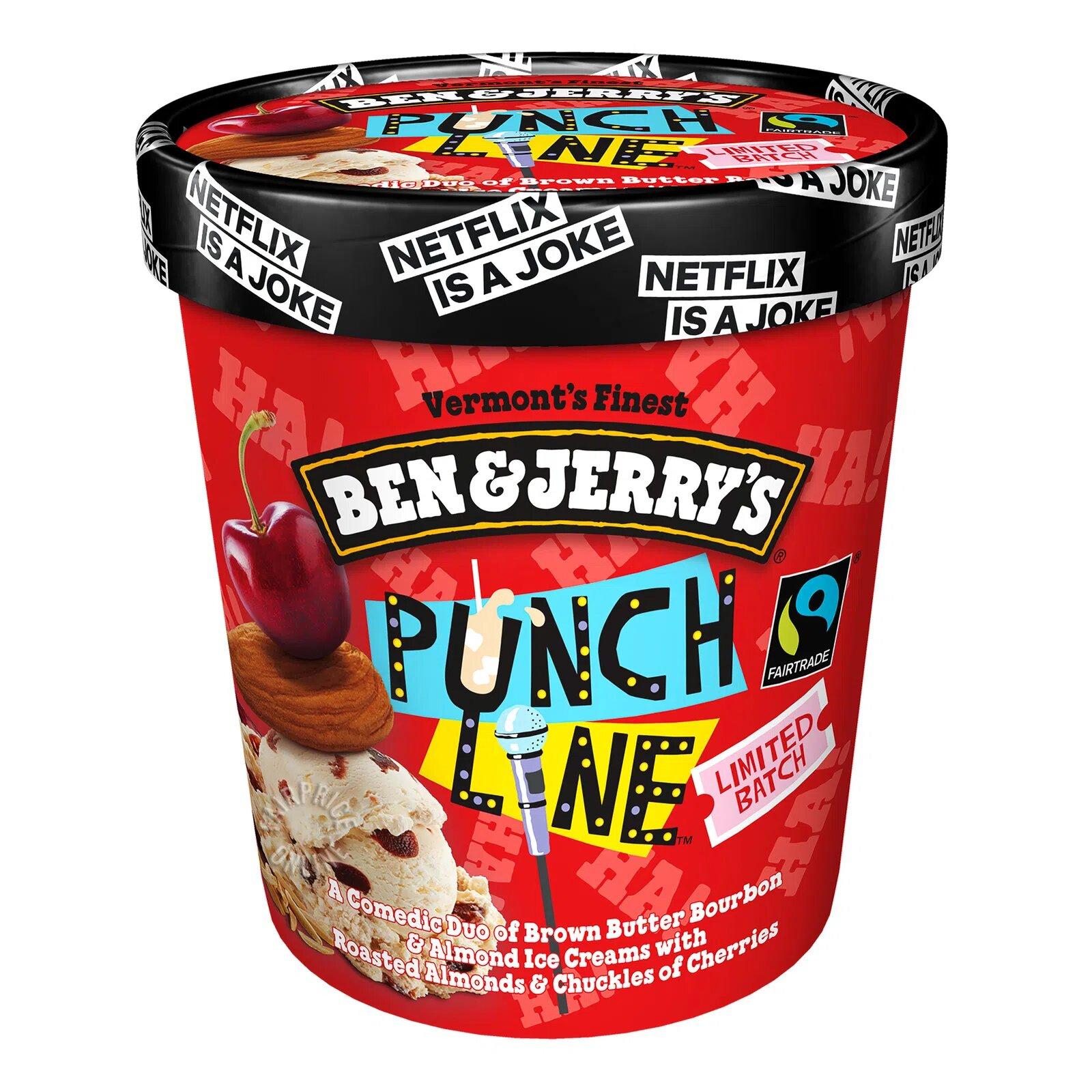 Ben & Jerry's Ice Cream - Punch Line