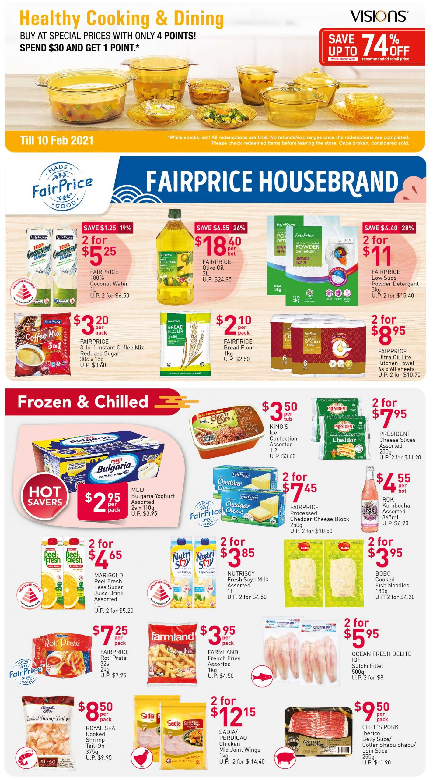 FairPrice's weekly saver deals till 13 January 2021