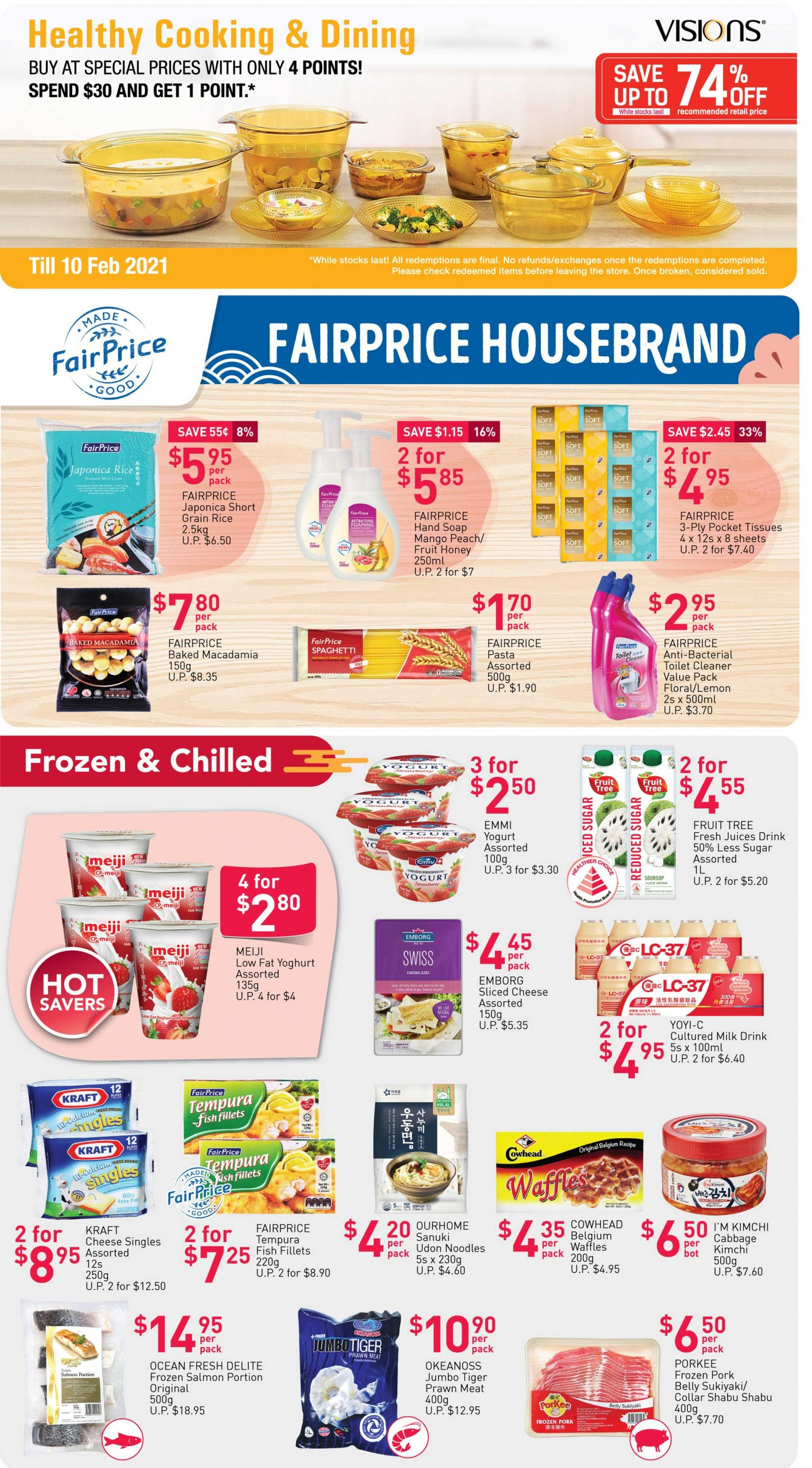 FairPrice's weekly saver deals till 27 January 2021