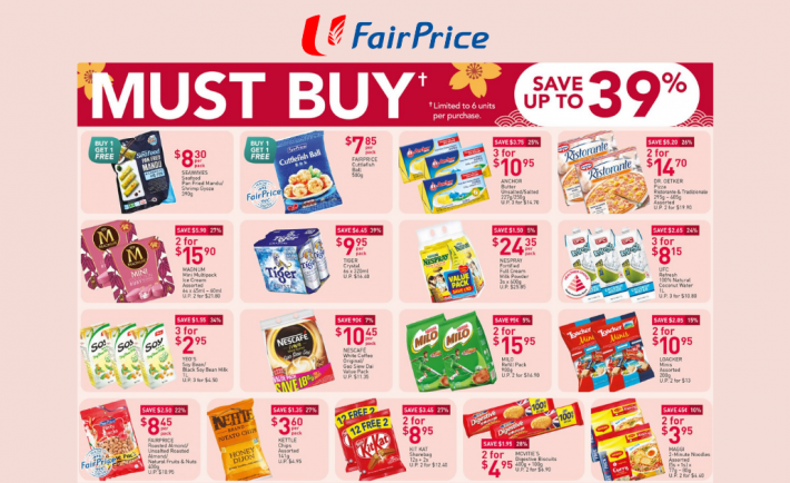 FairPrice Weekly Deals 7 January 2021