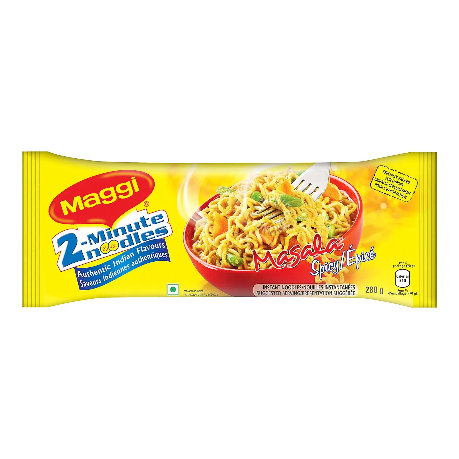 Maggi 2-Minute Instant Noodle - Masala (Spicy)