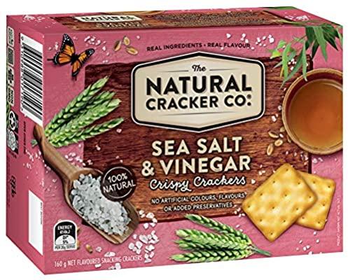 Natural Cracker Co. Sea Salt & Vinegar Crackers