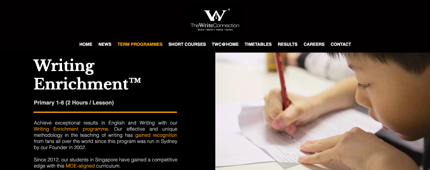 The Write Connection's writing enrichment programme