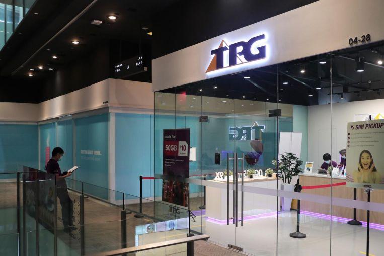 TPG Telecom offline store