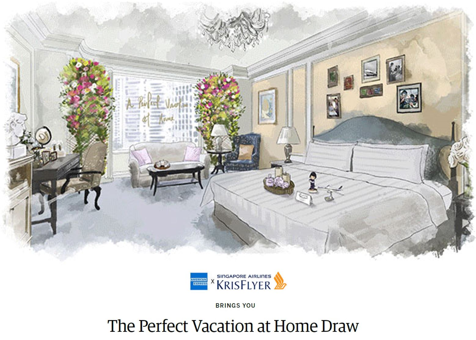 Win 'The Perfect Vacation at Home' with American Express Singapore Airlines Credit Cards