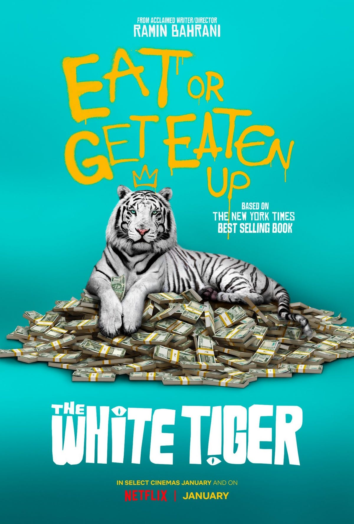 The White Tiger movie poster