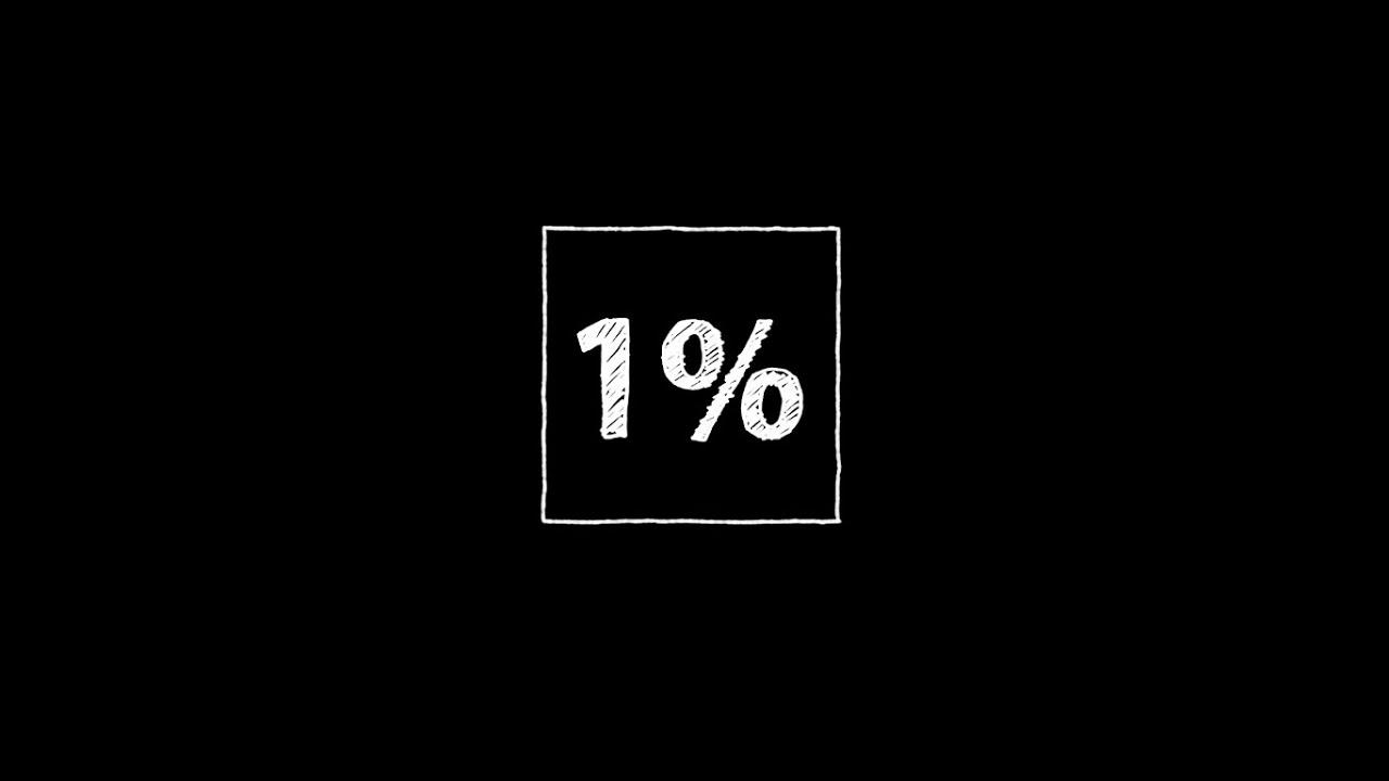 1 per cent