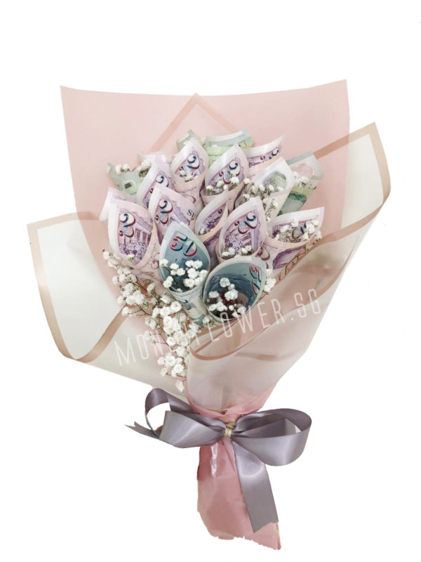 Eternal Love Money Bouquet – 18 Stalks