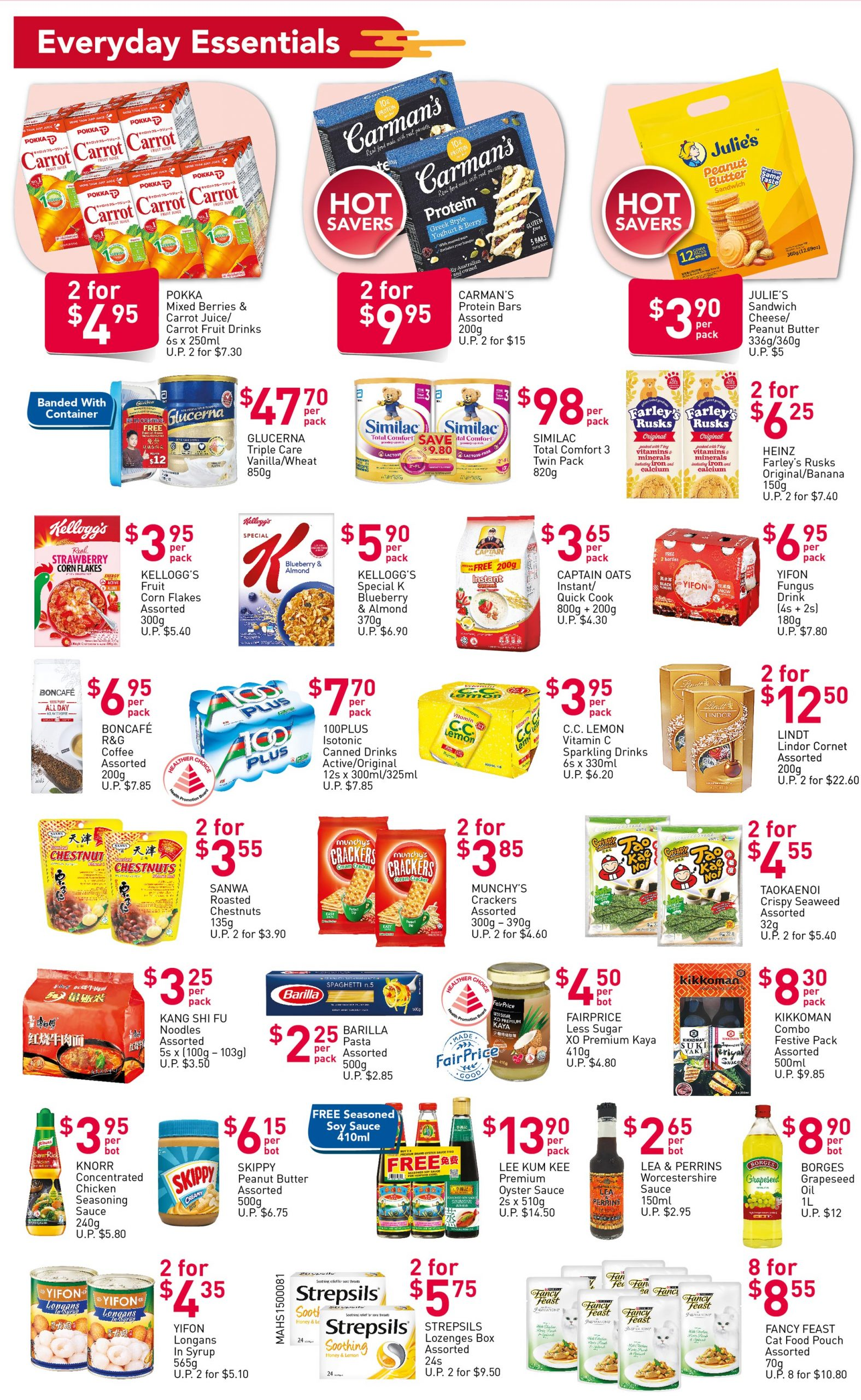 FairPrice's weekly saver deals till 10 February 2021
