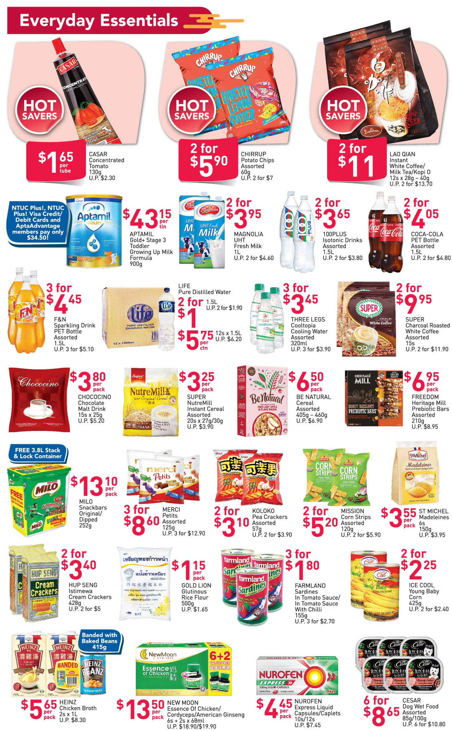 FairPrice's weekly saver deals till 3 March 2021
