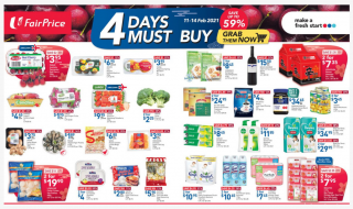 FairPrice 4 days must-buys 11 Feb 2021