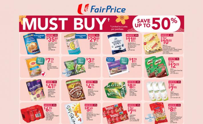 FairPrice Weekly Deals 18 Feb 2021