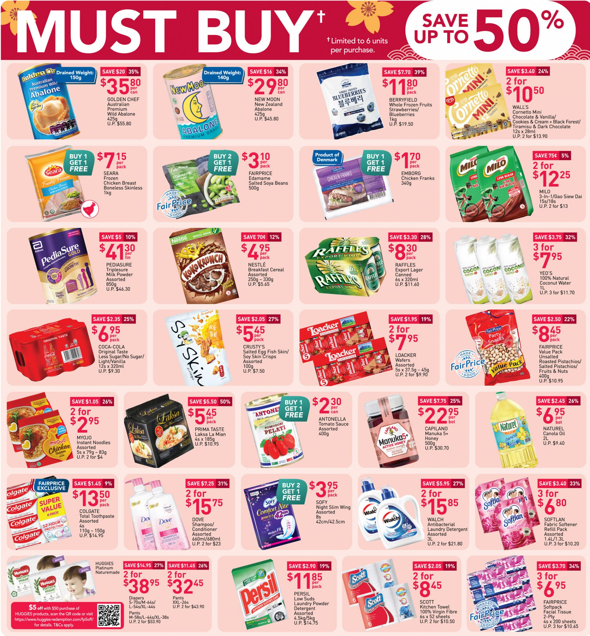 Must-buy items from now till 24 February 2021