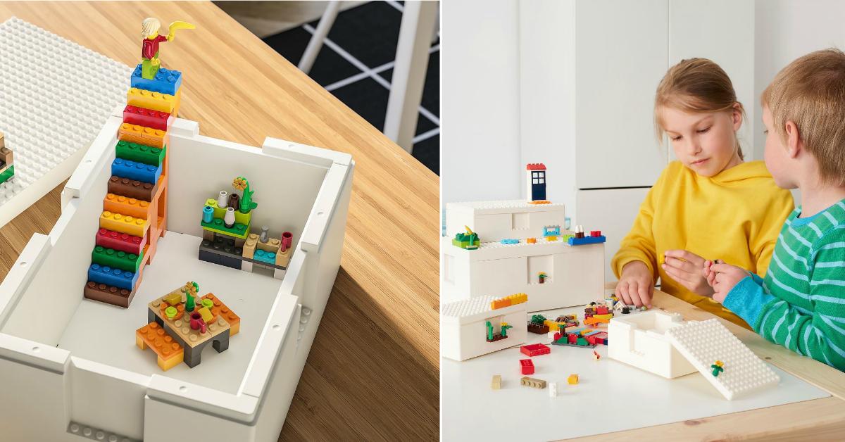 IKEA S'pore launches LEGO Storage Boxes and 201-piece LEGO Brick Set