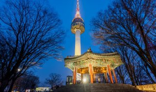 Namsan Tower in Korea