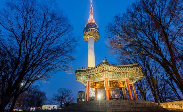Namsan Tower in Korea