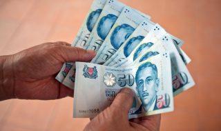 Singapore 50-dollar notes