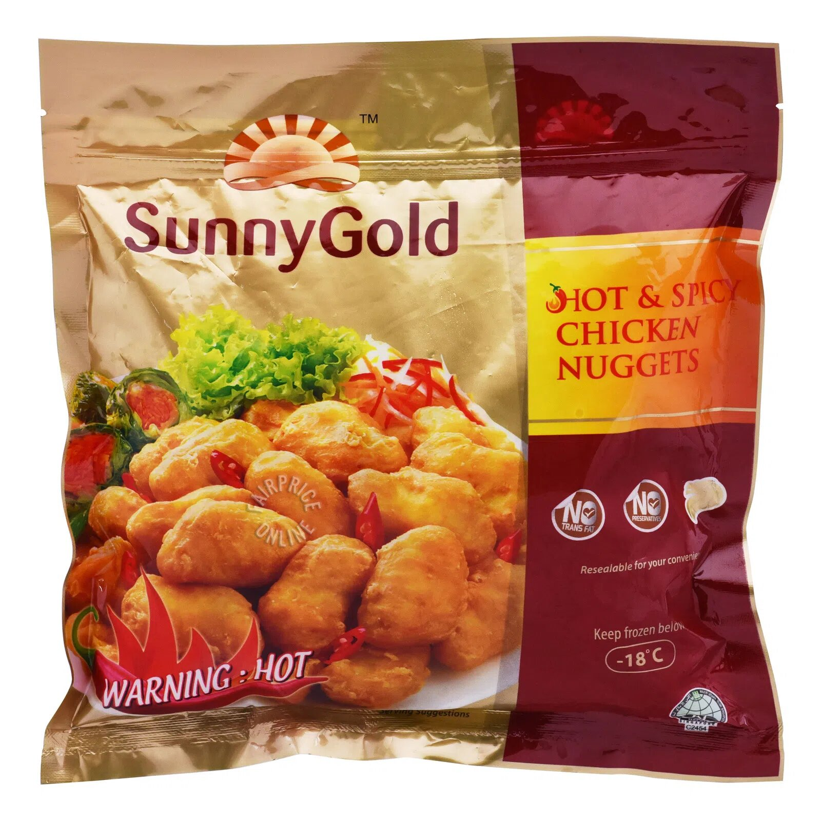 Sunny Gold Chicken Nuggets - Hot & Spicy