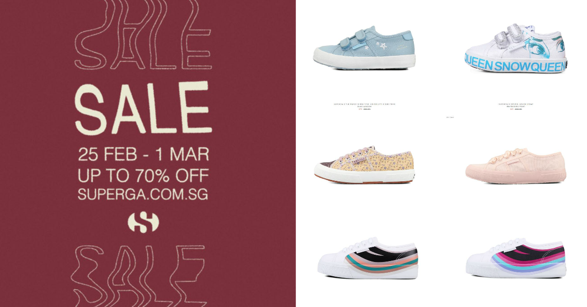 Superga is running a big sale today and you probably didn't realize it - here are the best deals at up to 70% off